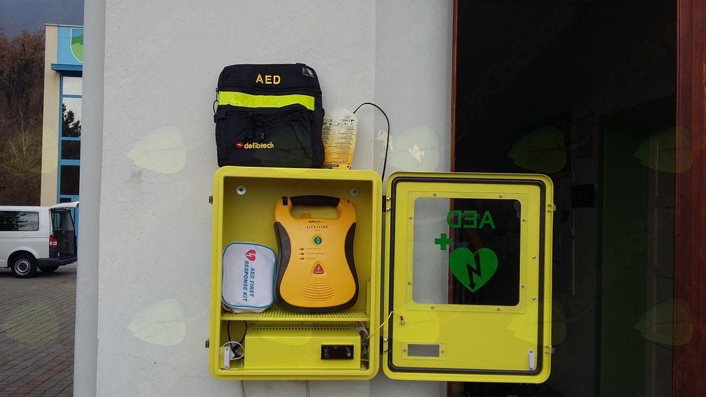 Defibrilatorja v Vrtovinu in Gaberjah
