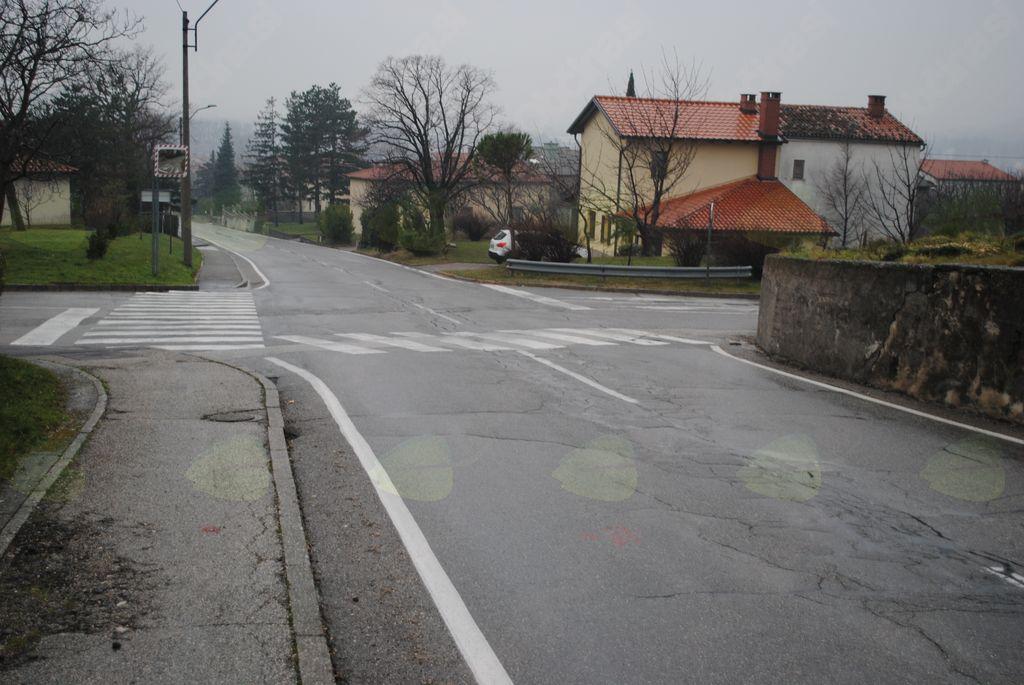 Križišče na Idrijski cesti v prenovi