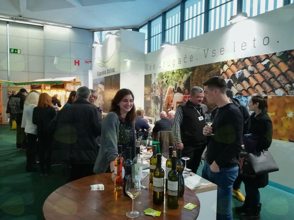Uspešna predstavitev Vipavske doline na sejmu v Ljubljani