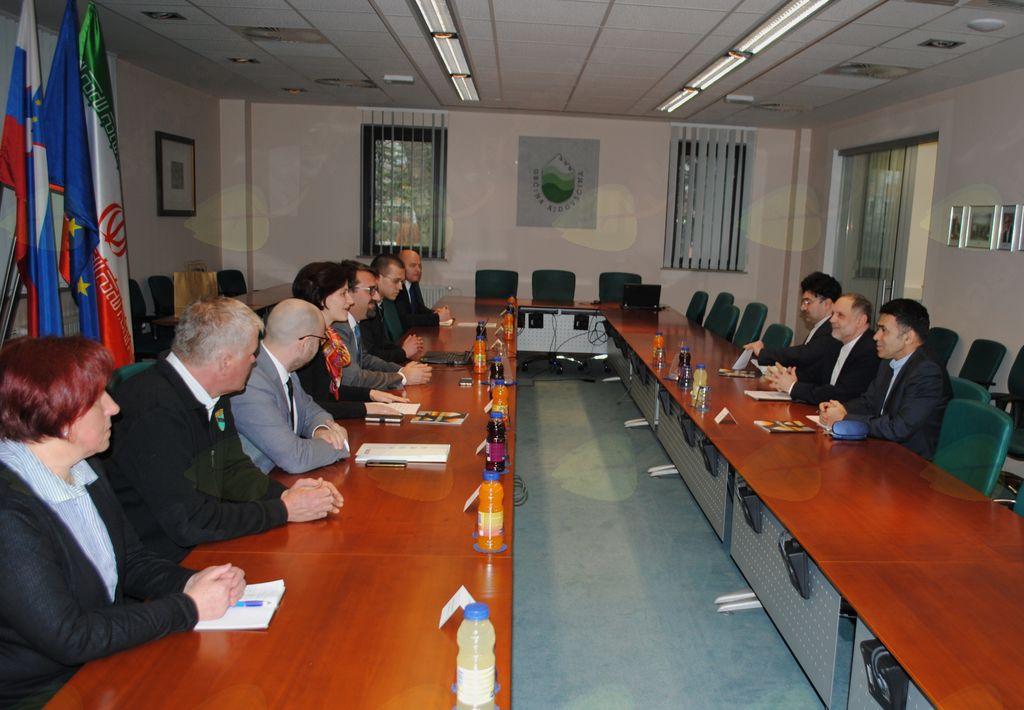 Obisk veleposlanika Irana v Ajdovščini