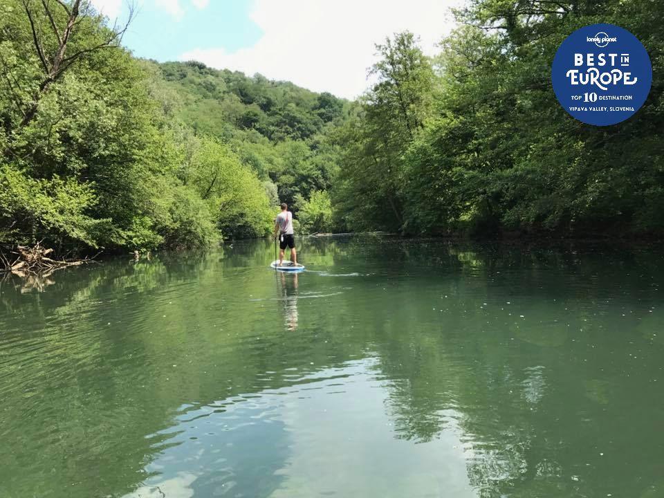 Bogata ponudba aktivnega oddiha v Vipavski dolini