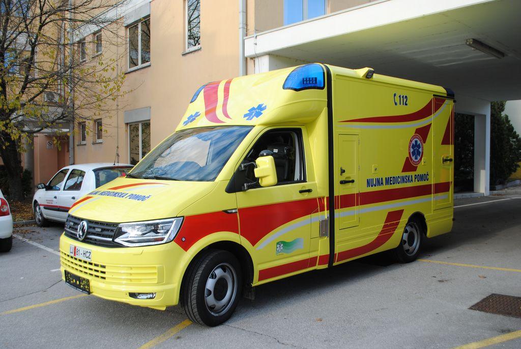 Zdravstveni dom Ajdovščina z novim 'rešilcem'