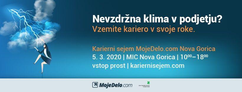 Karierni sejem MojeDelo.com v Novi Gorici