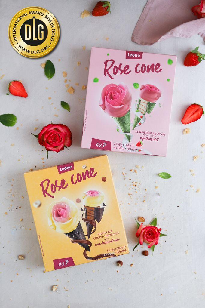 LEONE sladoledne vrtnice prejele zlato medaljo v Nemčiji