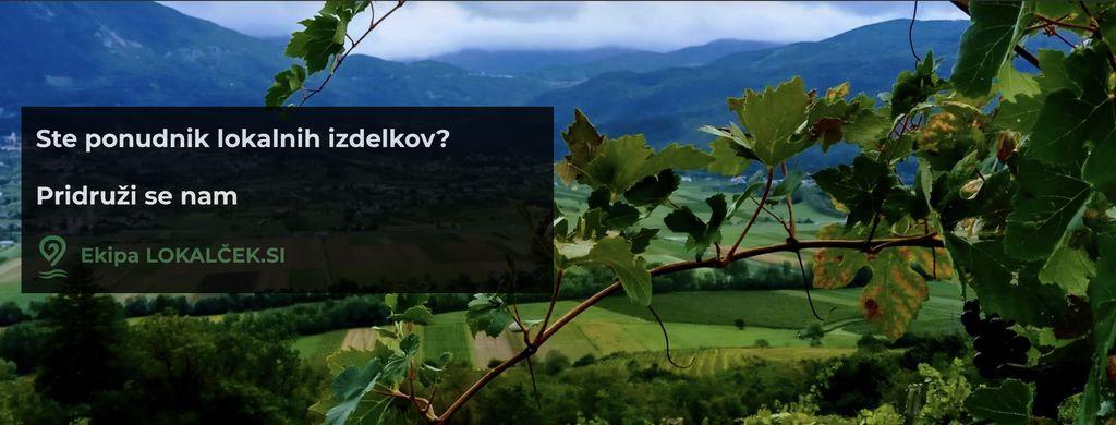 Po domače izdelke na Lokalček.si