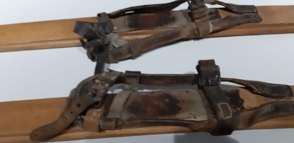 Detajl – usnjene vezi Foto Emil Velikonja