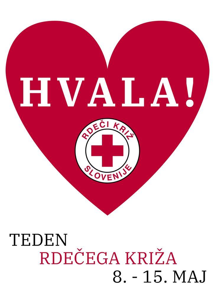 Teden Rdečega križa je od 8. do 15. maja.