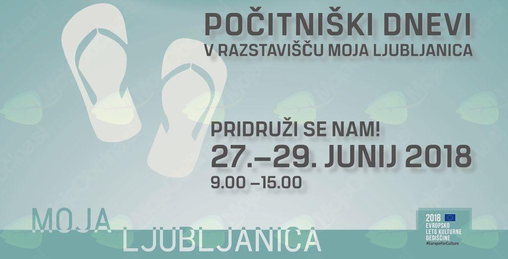 Počitnice na razstavi Moja Ljubljanica, 27. - 29. junij 2018