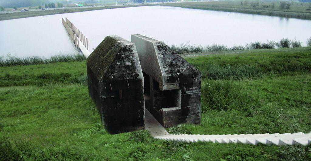 Bunker 599 na Nizozemskem. Vir: RAAAF