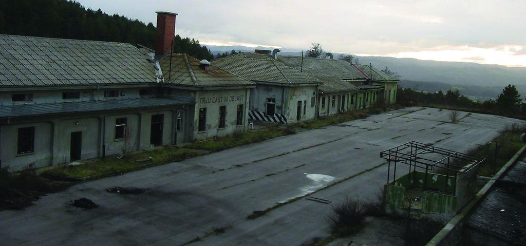 Paviljona pred prenovo. Foto: arhiv PVZ