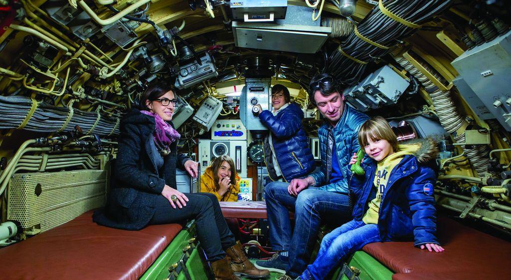 Notranjost podmornice. Foto: arhiv PVZ