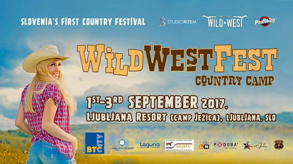 WILD WEST FEST 1. COUNTRY FESTIVAL V SLOVENIJI