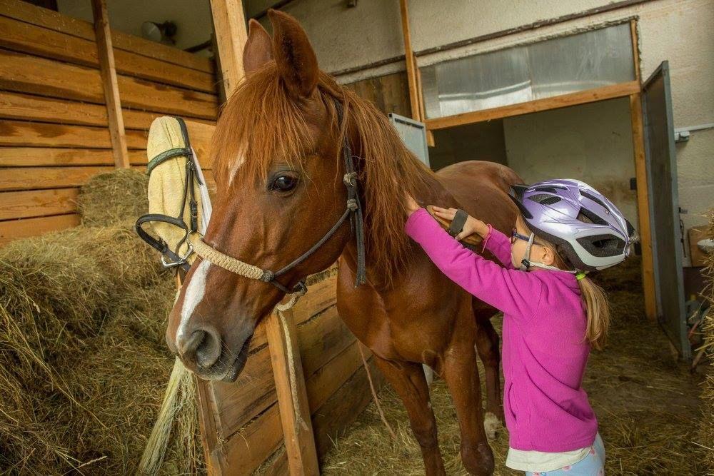 Zimske počitnice za otroke na ranču 16 podkvic v Hotiču