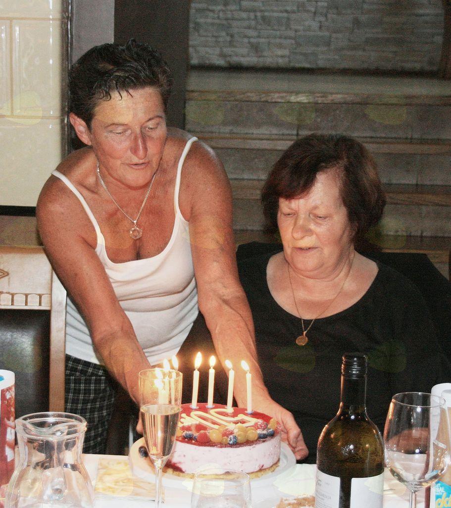 Lojzka Imperl: praznovanje 80-letnice.