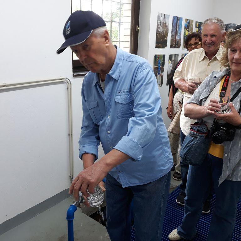 Črpališče vode na Glogovem Brodu: kvalitetna voda, ki je ni treba klorirati.