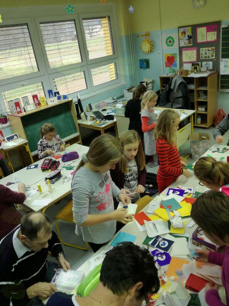 Medgeneracijsko ustvarjanje na OŠ Boštanj