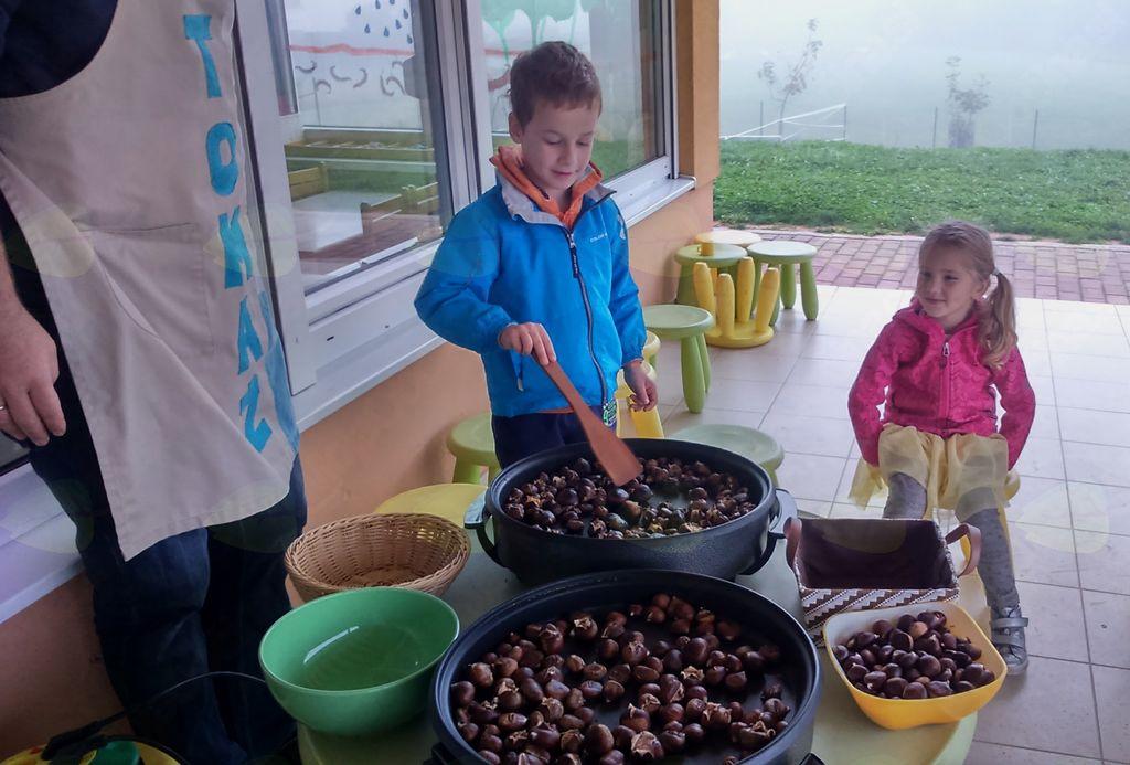 Kostanjčkov piknik v vrtcu