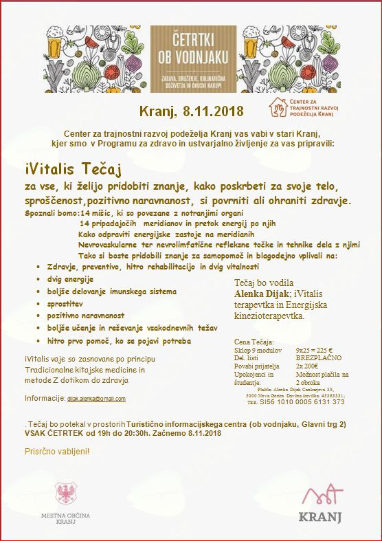 iVitalis v Kranju