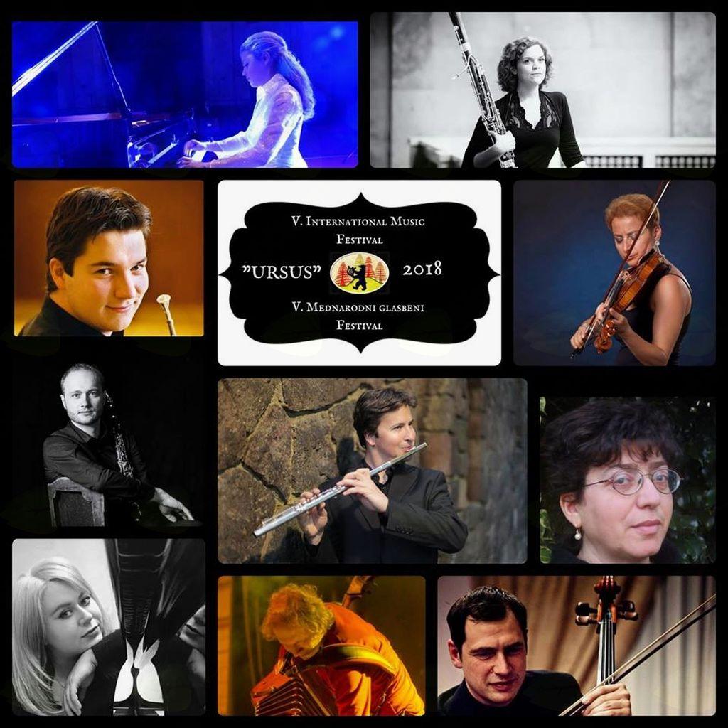 """V. mednarodni glasbeni festival """"Ursus"""""""