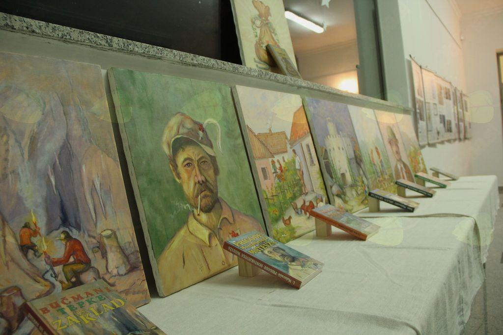Razstava del Ivana Malavašiča