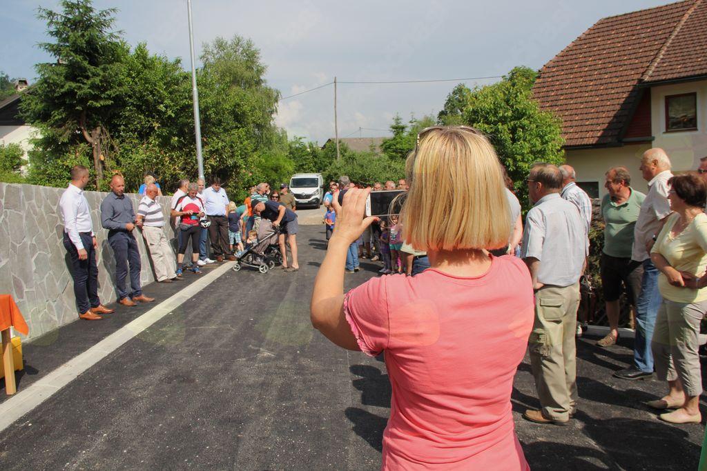 Slavnostno odprtje Rimske ceste na Logu