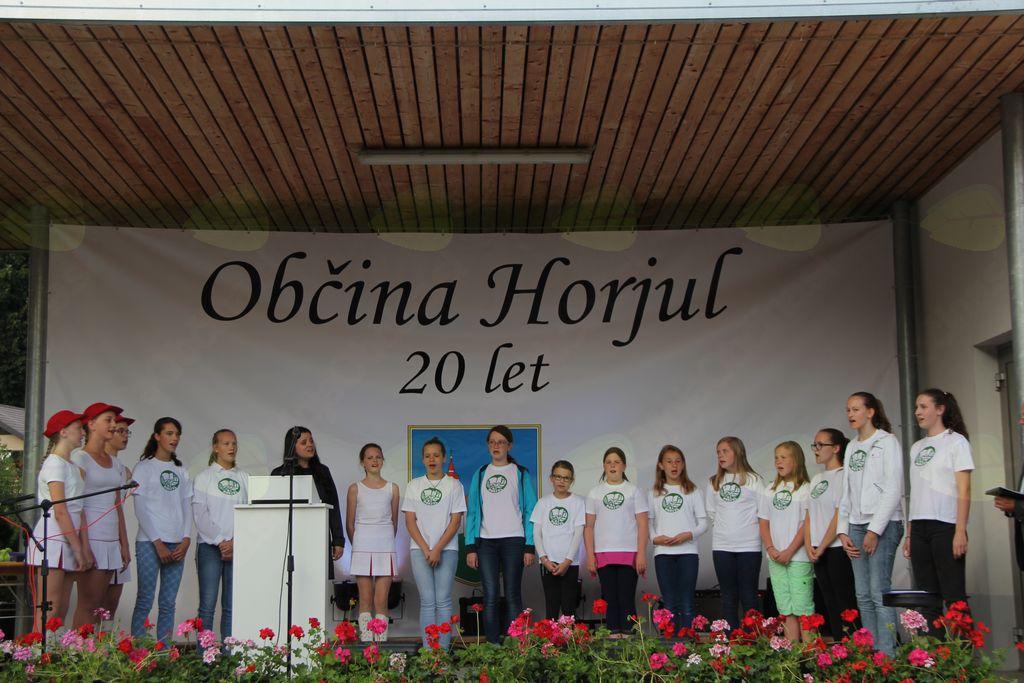 Slovesnost ob 20-letnici občine Horjul