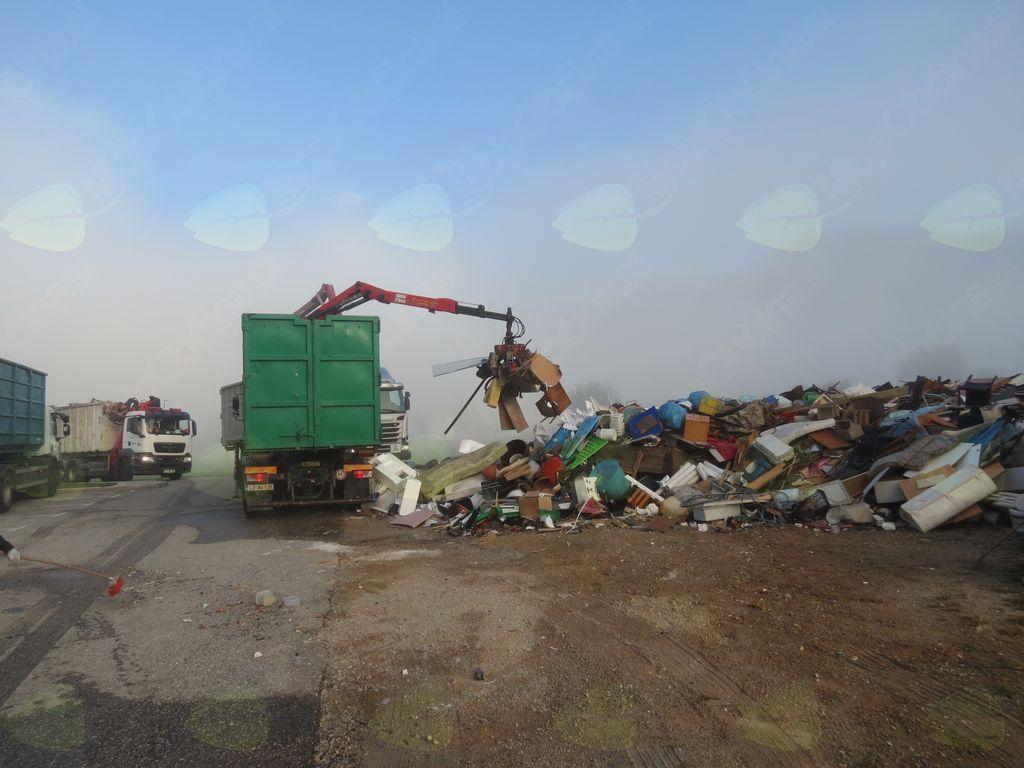 Odvoz kosovnih odpadkov uspel