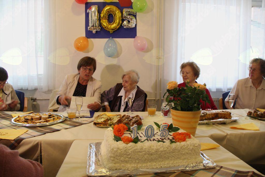 Vse najboljše za 105 let Tilka!