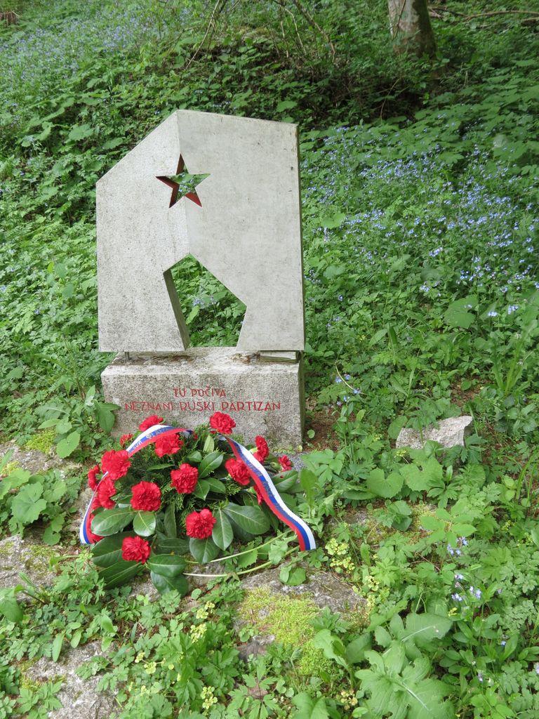 Počastitev spomina na padle ruske borce