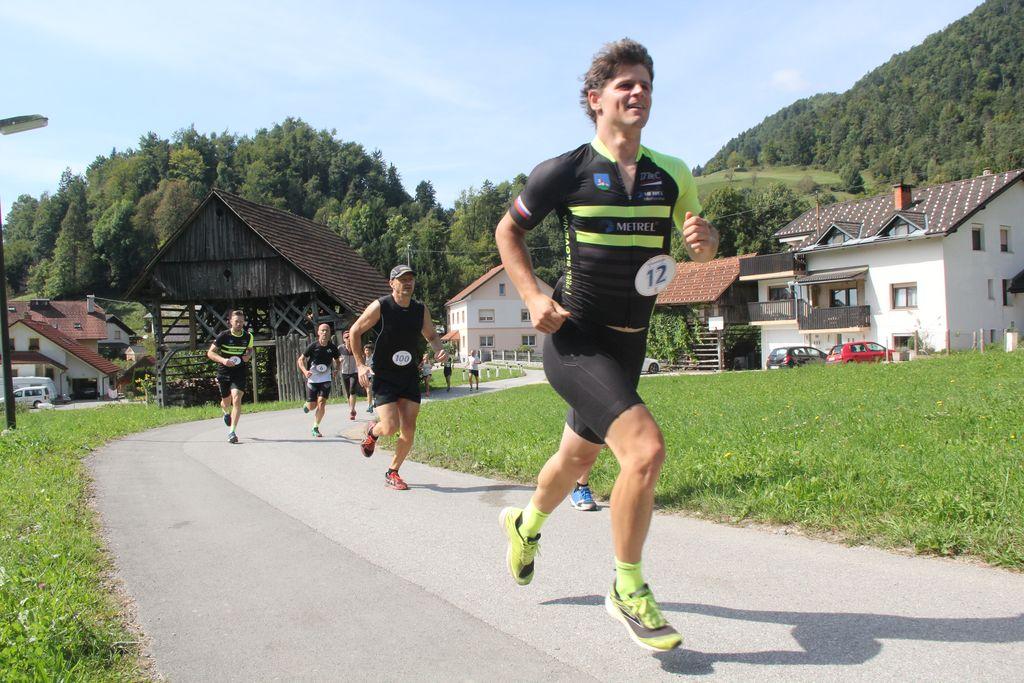 Zmagovalec med tekači in duatlonci Primož Jereb