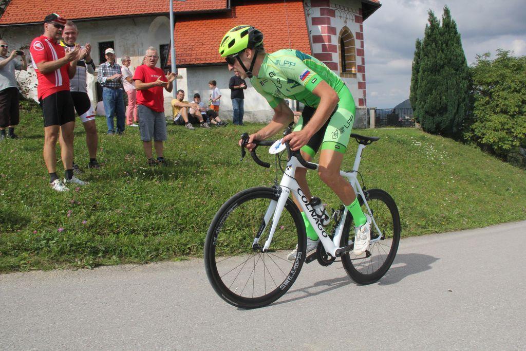 Zmagovalec med kolesarji Alič Miha