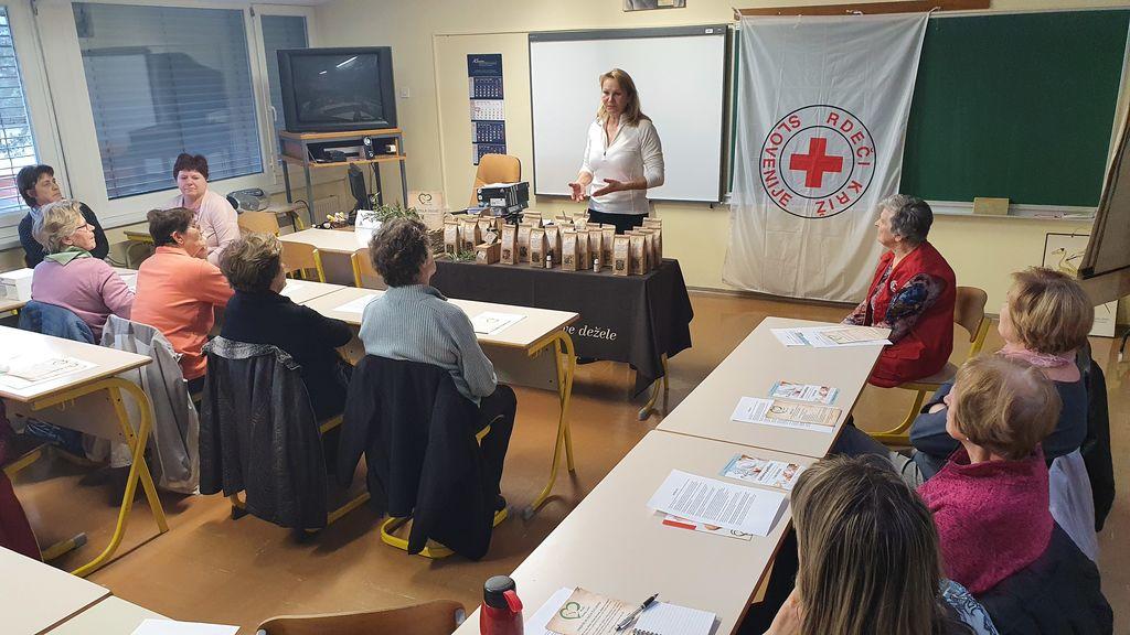 Preventivni pregled v organizaciji Rdečega križa Slovenije