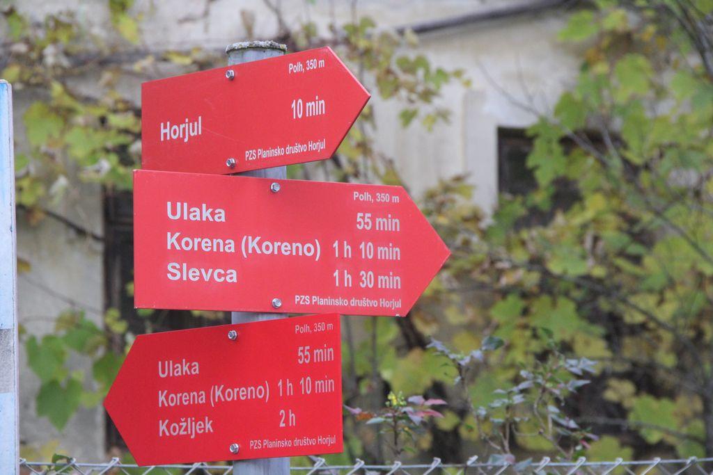 V občini Horjul je veliko dobro označenih poti, ki vabijo, da se gibljemo na svežem zraku.