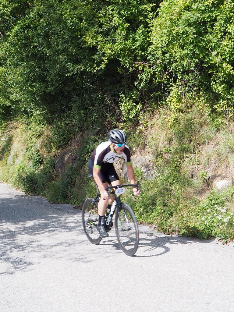 Zmagovalec med kolesarji Boštjan Habič.