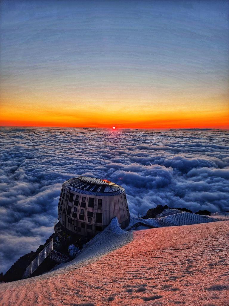 Menda je na 4000 metrih najlepši sončni zahod.