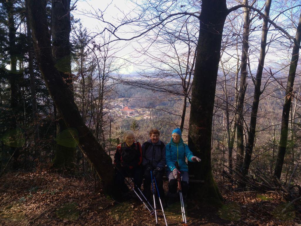 Štefanja gora, pogled v Adergas
