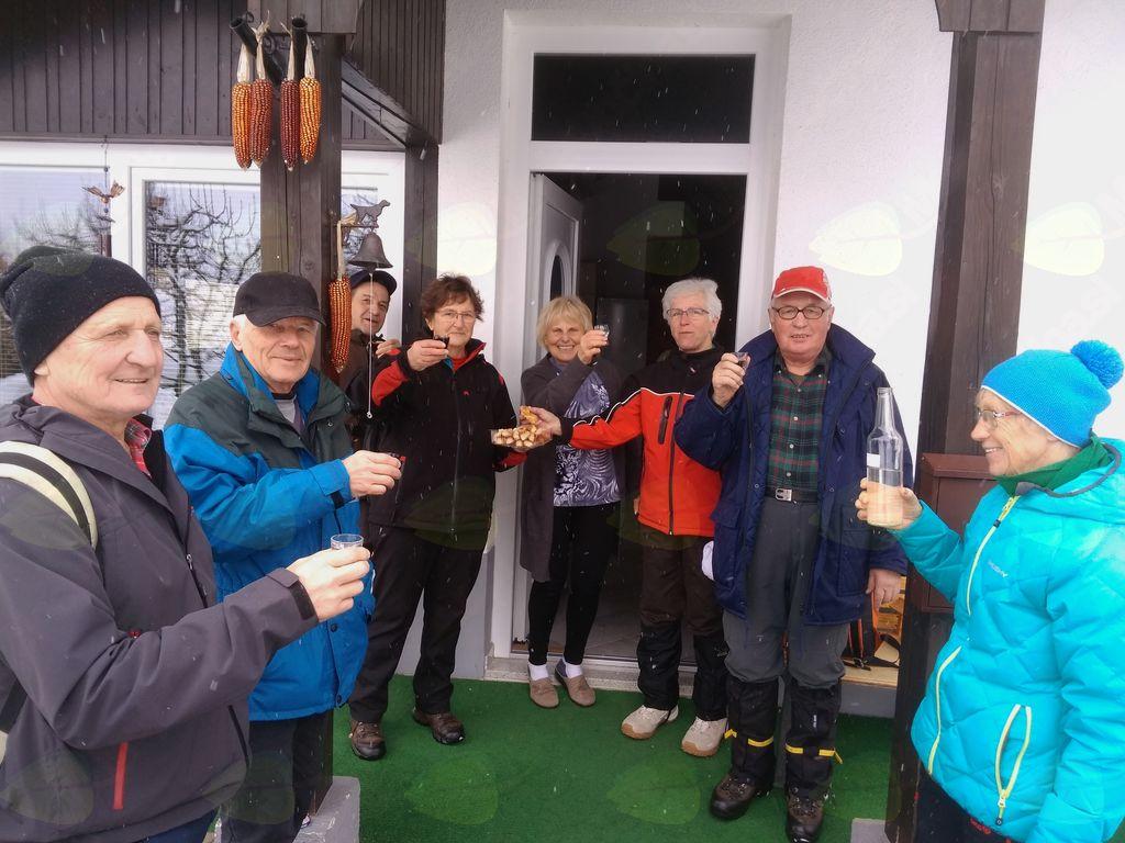 Pohod Olševek - Luže - Breg:pri Anici na Bregu