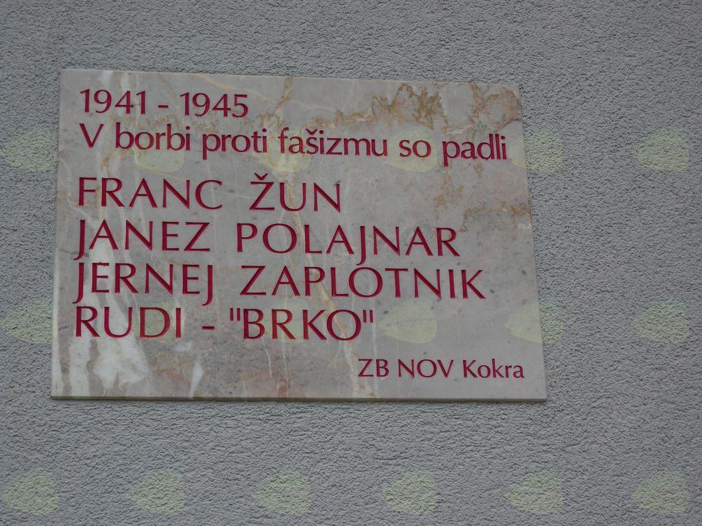 Novo partizansko spominsko obeležje v Kokri