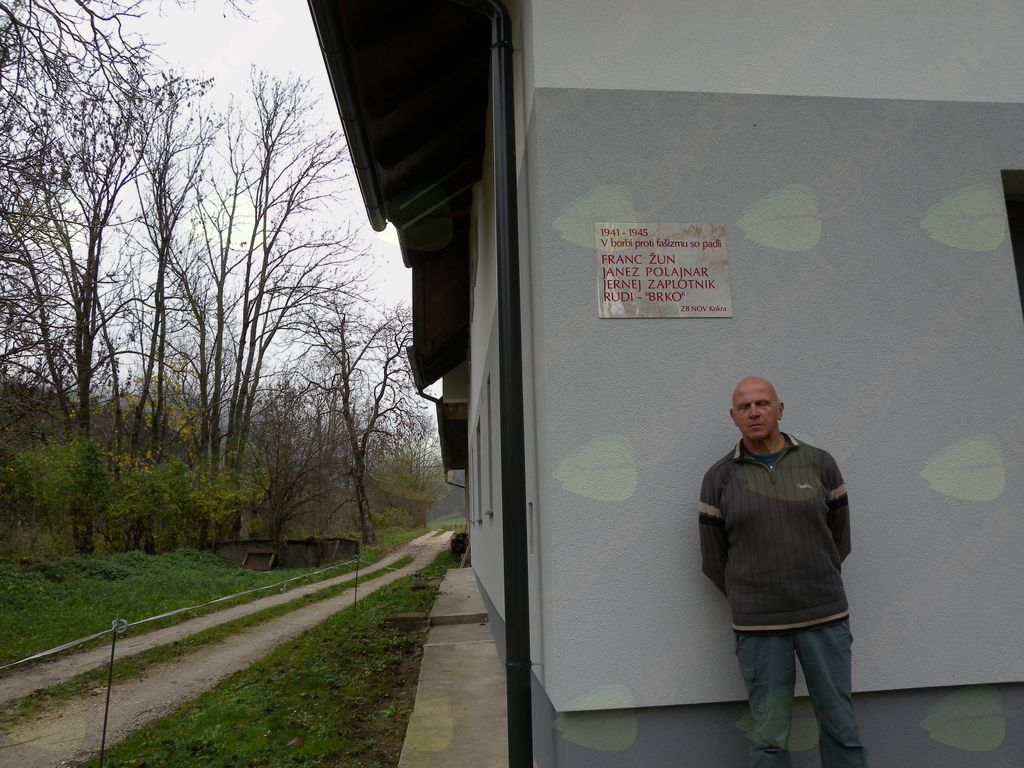 Nova spominska plošča na Koreninškovi domačiji in gospodar Jernej Polajnar