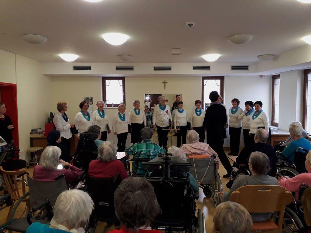 Koncert Josipink v Domu sv. Katarine v Mengšu