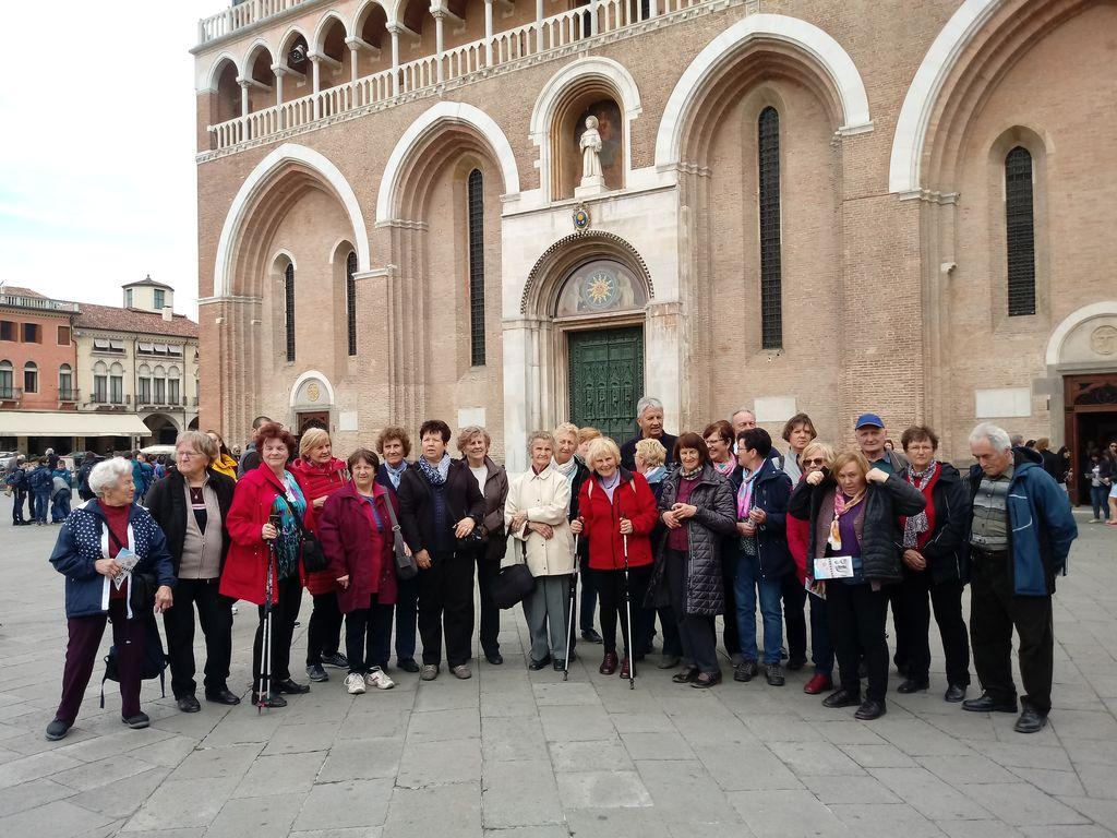 Izlet DU v deželo Veneto – Padova, Evganejski griči