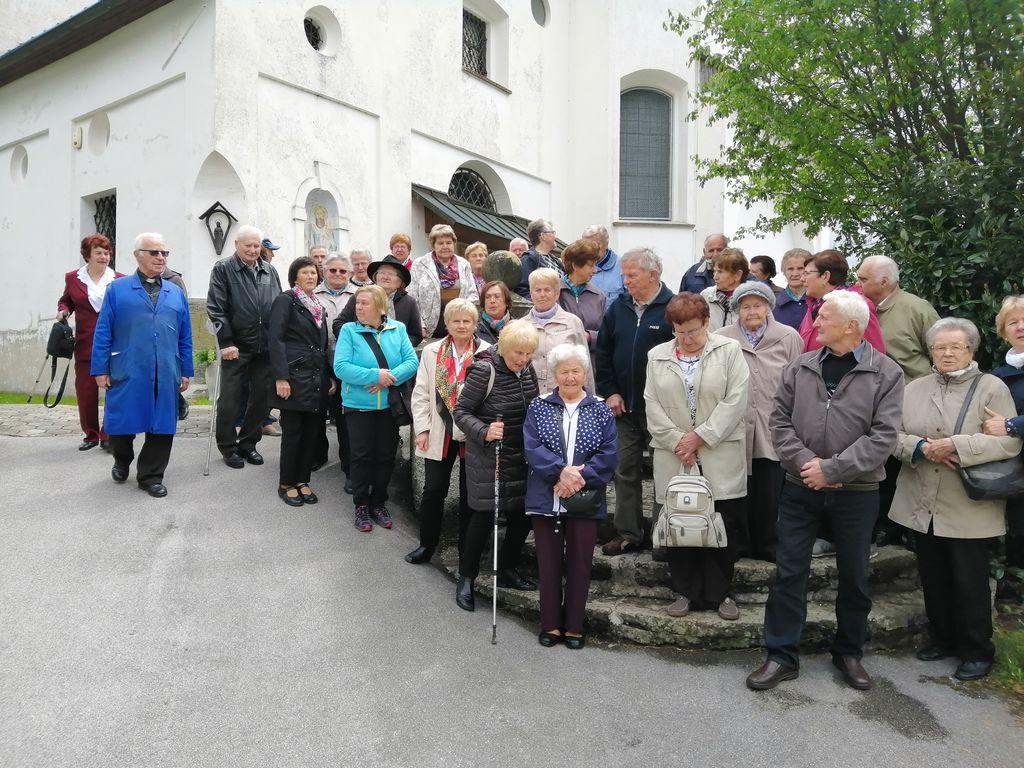 Izlet DU za stare 80 in več let v Radmirje