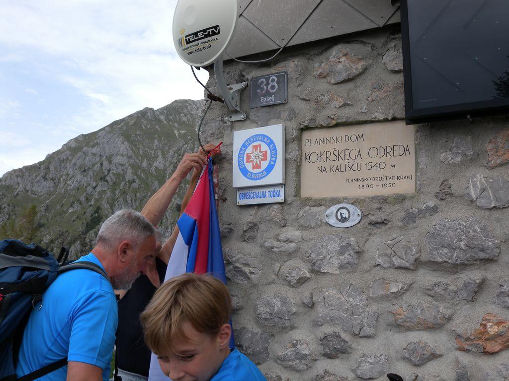 Praznovanju občinskega praznika Občine Preddvor se je s srečanjem na Spodnjem Kališču pridružila tudi občinska organizacija za vrednote NOB Preddvor