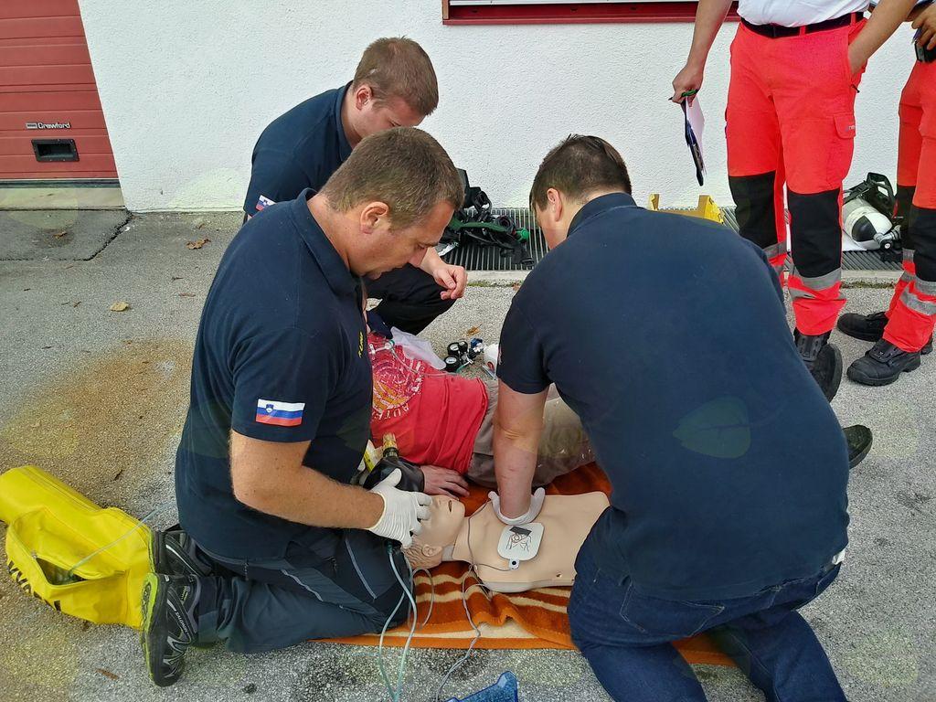 Naši gasilci uspešni na tekomovanju prvih posredovalcev
