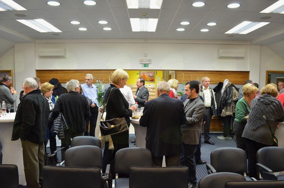 Novoletni županov sprejem poslovnežev