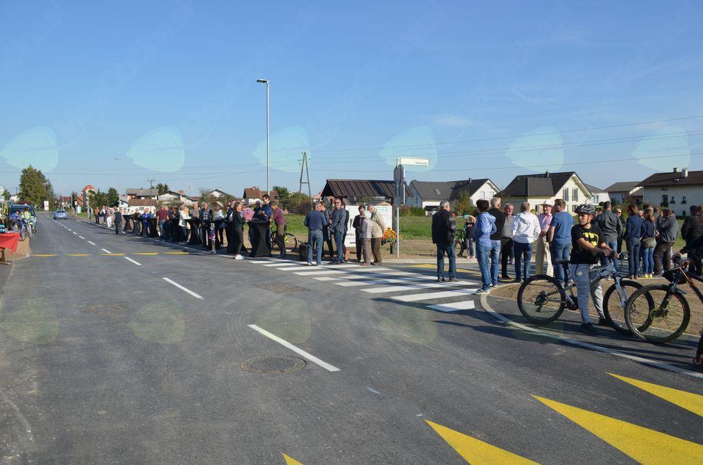 Otvoritev Ceste na postajo