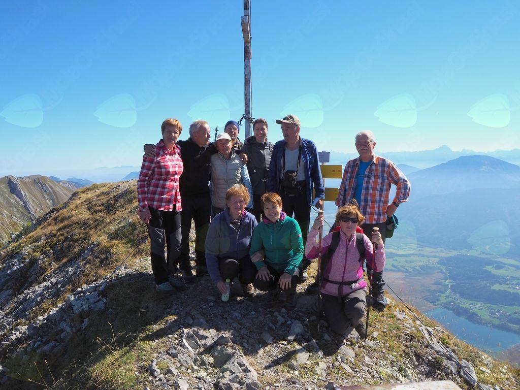 Fotoreportaža: PD na Spitzeglu, goro nad Ziljsko dolino 30. 9. 2018