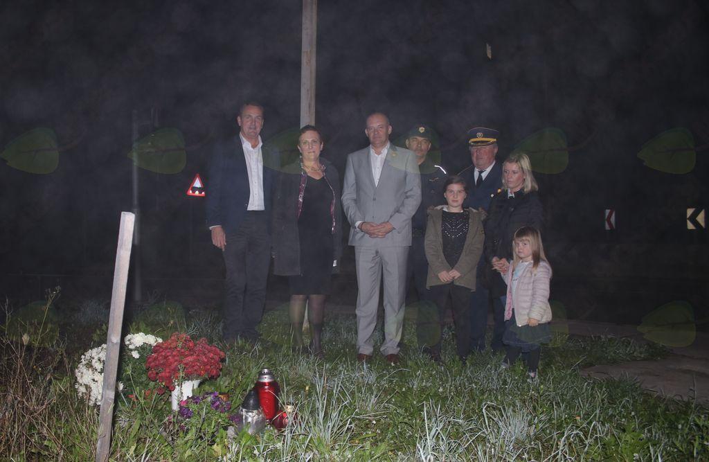 Obeležitev svetovnega dneva spomina na žrtve prometnih nesreč v občini Brezovica
