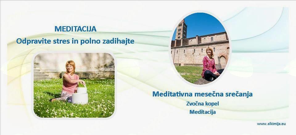 Mesečna meditativna srečanja - ODPRAVITE STRES IN POLNO ZADIHAJTE!