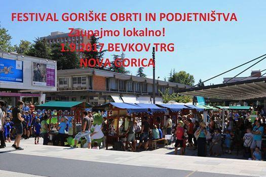 Festival goriške obrti in podjetništva - Sekcija trgovcev pri OOZ Nova Gorica